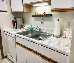 Faux Marble Counters