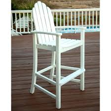 bar chairs recycled plastic faux wood all weather outdoor chairs plastic bar height chair outdoor plastic
