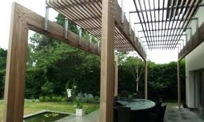 contemporary pergolas contemporary pergola with a slatted effect contemporary  pergolas design . contemporary pergolas ...