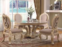 white dining room furniture sets trestle table wooden and chairs 48 round colorful kitchens friendly kitchen