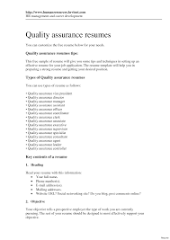Best Quality Assurance Cover Letter Examples Ideas Of Cover Letter