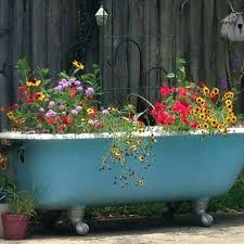 bathtub planter bathroom ideas