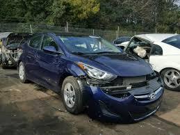 hyundai elantra 2014 blue. Beautiful Blue 5NPDH4AE7EH472752  2014 HYUNDAI ELANTRA SE 18L Left View On Hyundai Elantra Blue R