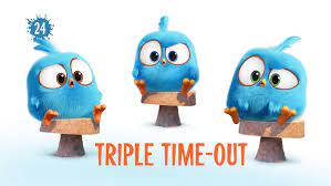 Triple Time-Out   Angry Birds Wiki