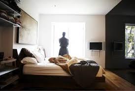 bedroom with black furniture. Black Furniture Adds Sophistication To A Man\u0027s Bedroom. Bedroom With Black I