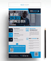 Design Business Flyers Online Business Technology Flyer Corporate Identity Template