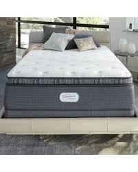 beautyrest platinum white spring grove 15inch plush fullsize innerspring pillow simmons pillow top mattress90 simmons