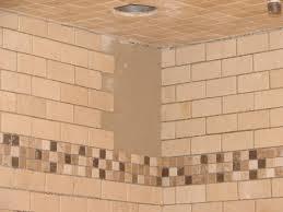 How To Install Tile In A Bathroom Shower HGTV - Installing bathroom tile floor