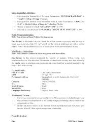 Activities Resume For College Template Impressive Activities Resume Template For College Activity Resume Template