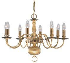 searchlight lighting 1019 8ab flemish 8 light antique brass small chandelier