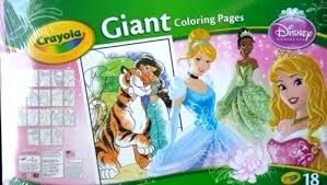 Crayola Giant Coloring Pages New Disney Princess Chronicles Network