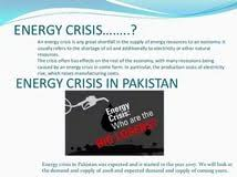 energy crisis in  energy crisis in science technology articles