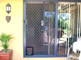 sliding security screen door double security screen doors security screen for sliding glass door medium size
