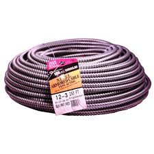ac cable. 250 ft 12/3 solid cu bx/ac cable ac