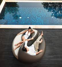 image of unique outdoor furniture pool