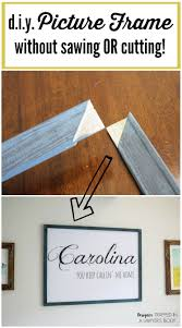 Come learn how to make a DIY picture frame any size you