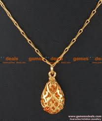 smdr21 gold plated jewellery beautiful teenage pendant short chain south indian jewelry 130 1 850x1000 jpg