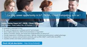 softdel linkedin softdel is hiring for subject matter expert iot m2m cloud computing this link to view full job description and apply bit ly 2mhieqh