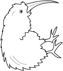 Small Picture Kiwi Animal Coloring Pages Kiwi Kiwi Page nebulosabarcom