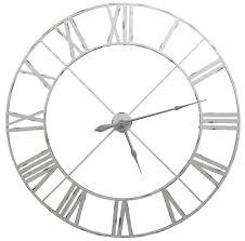 large wall clocks white