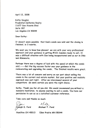 Examples Of Testimonial Letters For Real Estate Agent
