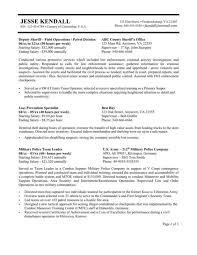 cover letter military police resume resume military police resume law enforcement resume examples