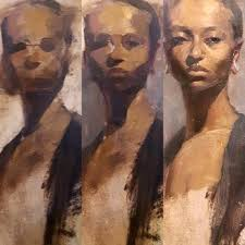portrait steps alla prima oil painting course