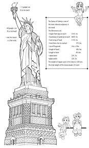 Statue Of Liberty Activities Worksheets Earthcam