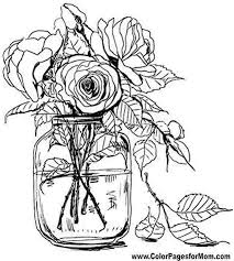 The coloring page is printable and can be used in the classroom or at home. Flower Coloring Pages For Adults Picture Whitesbelfast