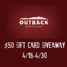 outback 50 gift card giveaway