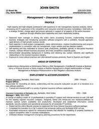 Insurance Resume Template Best of Insurance Manager Resume Example Pinterest Resume Examples
