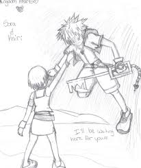 Small Picture Kingdom Hearts Sora and Kairi by pandapunk143 on DeviantArt