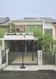 Small Picture Traditional Courtyard House Reinvented In Malaysia Home Front