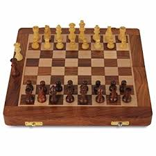 105 Magnetic Wooden Travel Chess Game Amazon Chess Set Premium Wooden Chess Board Magnetic 12