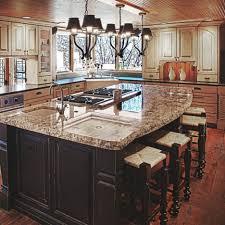Brown Granite Kitchen Countertops Kitchen Attractive Kitchen Island With Stove New Inspirational