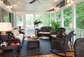 Small Enclosed Porch Decorating Ideas