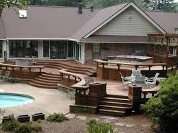home improvement design. Backyard Deck Ideas Great Home Design References Huca In Nice Improvement