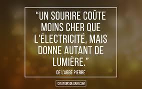 Citation De Labbé Pierre Qui Donne Le Sourireles Meilleures