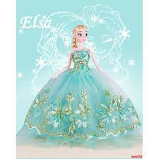 Búp bê công chúa Anna Elsa trong phim nữ hoàng băng giá thiết kế xinh xắn