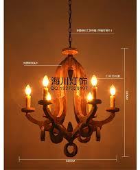 wooden chandelier wood candle get french country chandelier aliexpress model 43