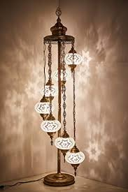 Bohemian lighting Flush Mount Image Unavailable Home Design Site Demmex Big Globes Turkish Moroccan Mosaic Floor Lamp Light