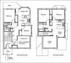Two Storey House Plan With Dimensions  Homes ZoneSample Floor Plans With Dimensions