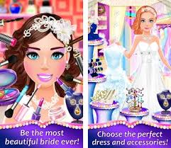 wedding spa dress up salon bridal