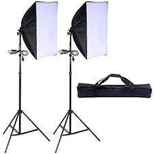 lighting set. safstar photography softbox 24 lighting set