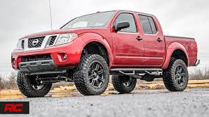 lifted nissan trucks. Interesting Nissan 20052018 Nissan Frontier 6inch Suspension Lift Kit By Rough Country In Lifted Trucks YouTube