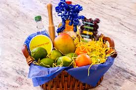 how to put together a martini gift basket
