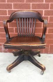 photo 3 of 4 vintage wood office chair good furniture delightful antique wooden desk on wheels