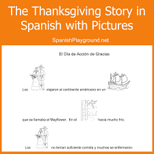 Thanksgiving Archives - Spanish Playground