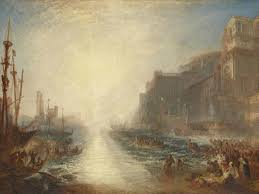 jmw turner regulus 1828 reworked 1837 oil paint on canvas support 895 x 1238 mm frame 1135 x 1460 x 93 mm painting tate accepted by the nation as