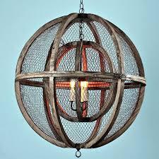 wire chandelier frame double sphere wire chandelier home improvement reboot
